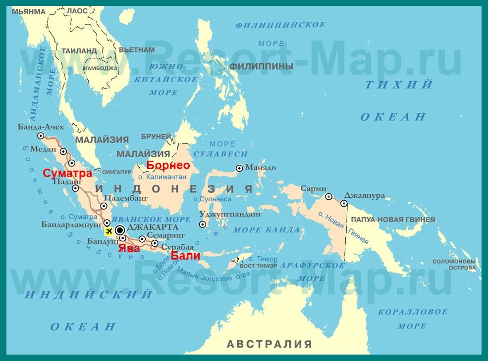 Где находиться остров бали